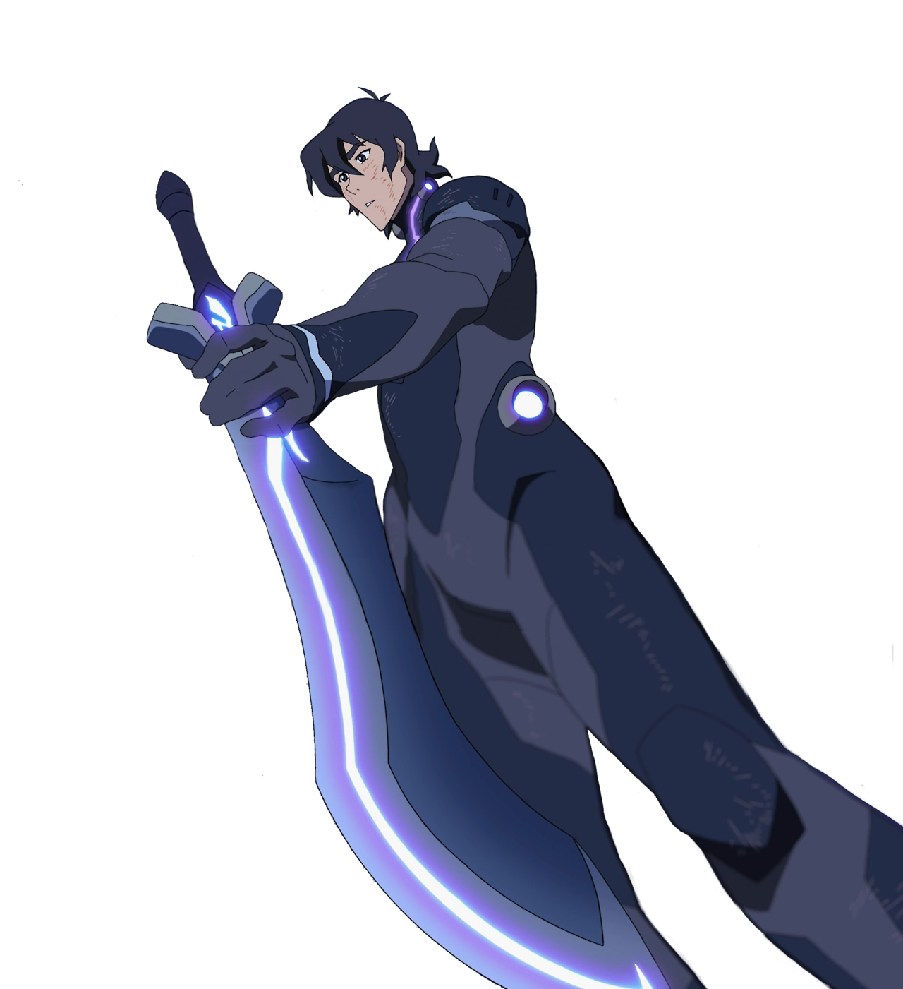Transparent voltron blue bayard. Keith joins the blade