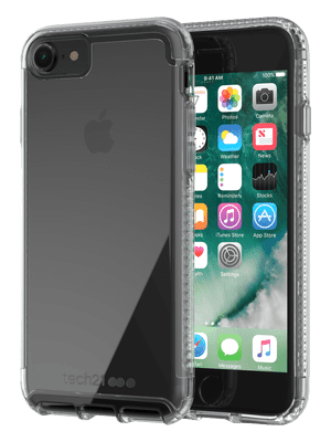 Transparent wallet iphone 7. Cases tech pure clear