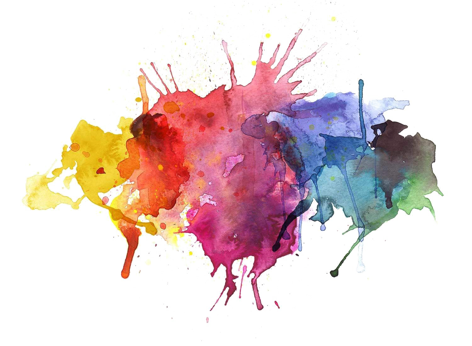 Transparent watercolor png. Abstract images mart