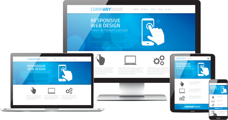 Transparent website. Web design png free