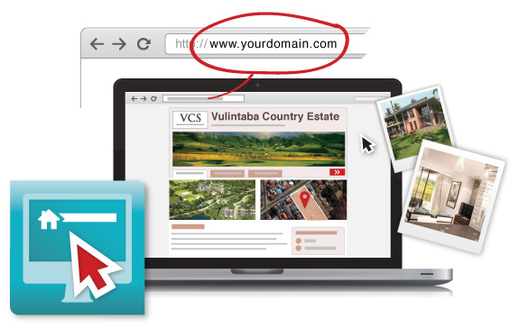 Transparent website instant. Quick development websites propertyengine