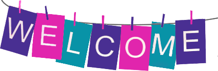 Welcome Banner transparent PNG