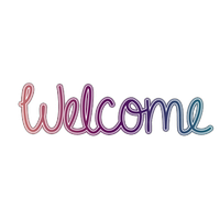 Download free png photo. Transparent welcome clip black and white library