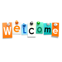 Transparent welcome. Download free background icon