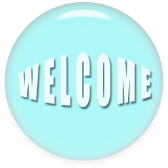 Transparent welcome blue. Free animated gifs graphics
