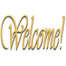 Transparent welcome gold. Icon x pixels smooth