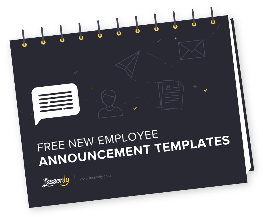 Transparent welcome new hire. Downloads archives lessonly want
