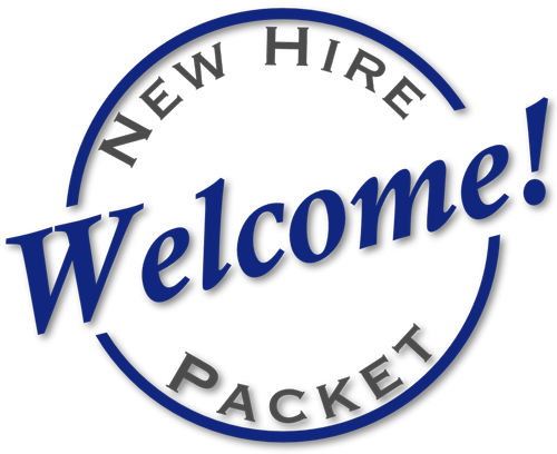 Transparent welcome new hire. Aoce package