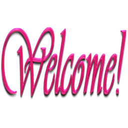 Transparent welcome pink. Icon x pixels smooth