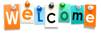 Transparent welcome professional. New and returning members picture library stock