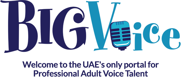 Transparent welcome professional. Bigvoice to the uae banner free stock