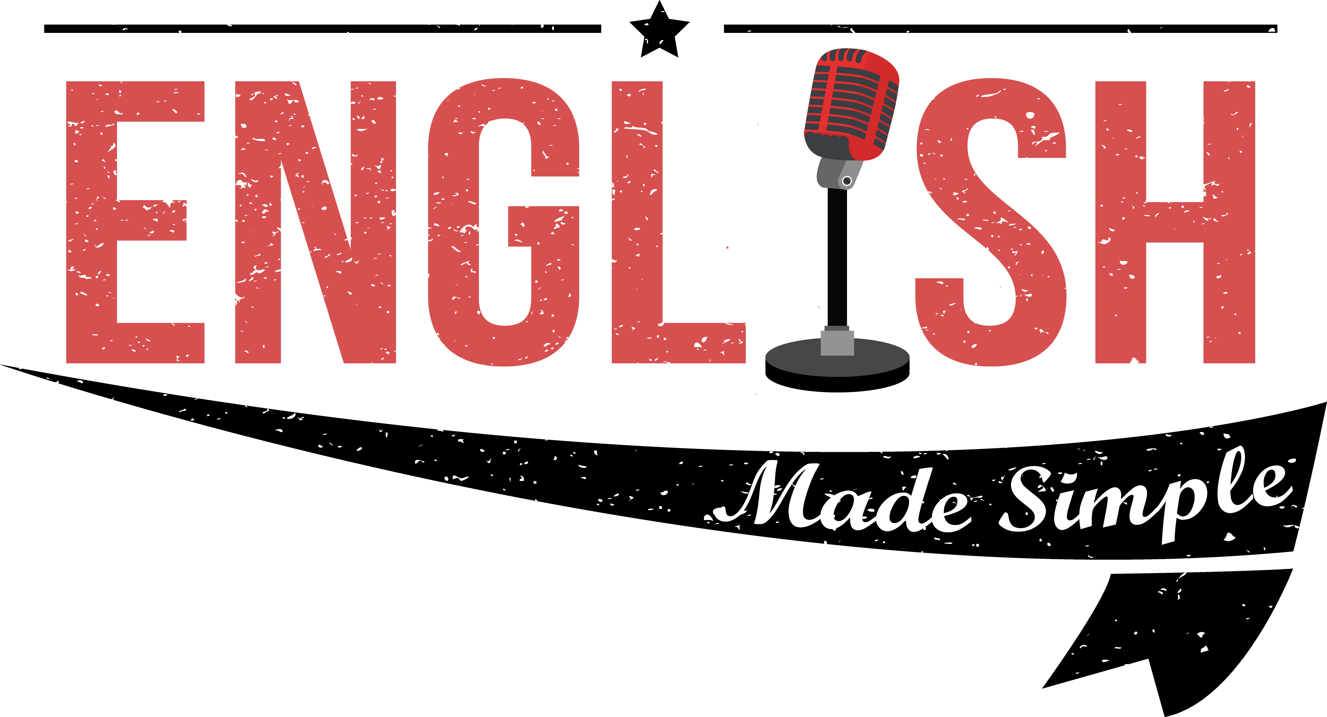 Transparent welcome simple. Podcast to english made