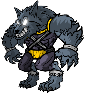 Town of salem characters. Transparent werewolf cartoon clip library stock