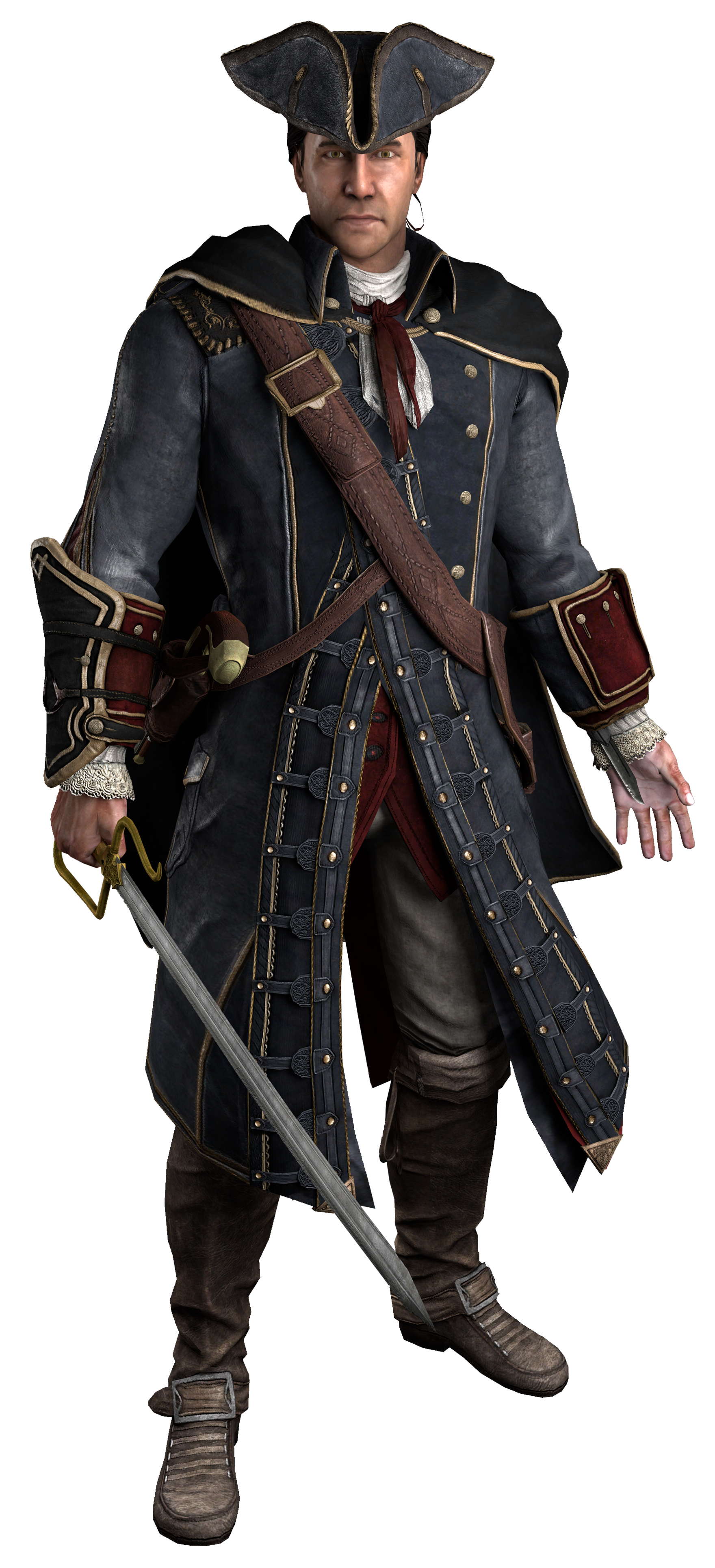 Rotate & Resize Tool: Transparent werewolf connor kenway
