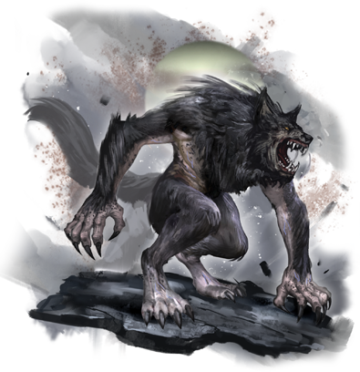 Transparent werewolf 3.5. Tips baring your fangs