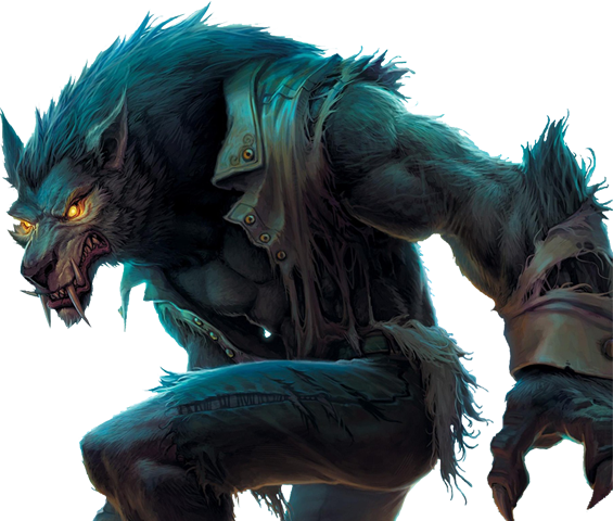 transparent werewolf rpg