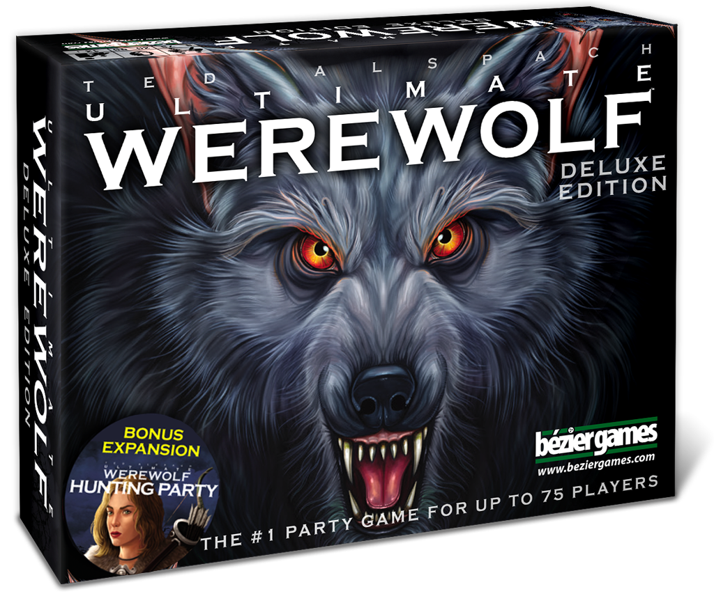 Transparent werewolf special edition. Ultimate deluxe bezier games
