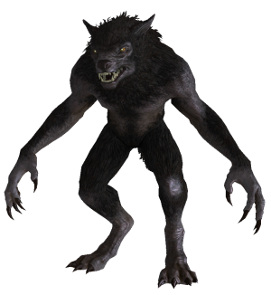 Transparent werewolf hulking. Poll does the model