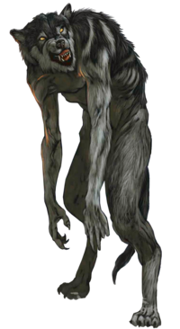 Transparent werewolf hulking. Create your own actual
