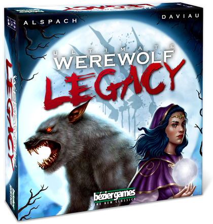 Transparent werewolf special edition. Ultimate legacy game review