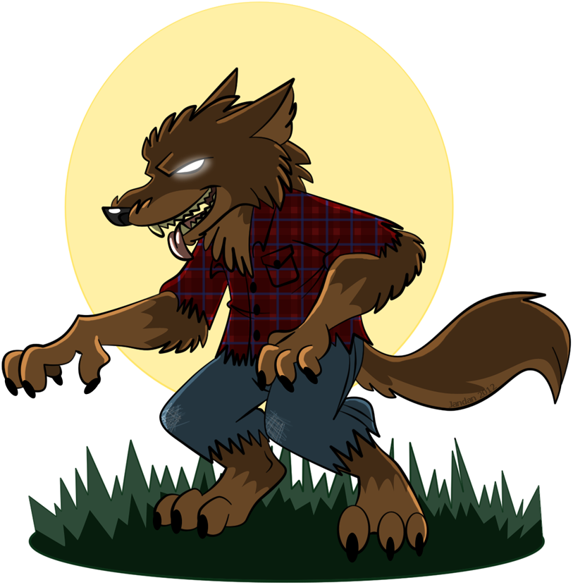 transparent werewolf furious