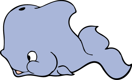Transparent whale animation. Free dolphin and graphics
