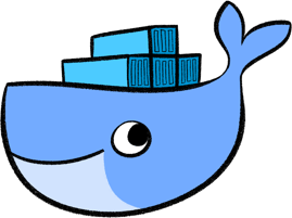 Transparent whale docker. Reproducible data science for