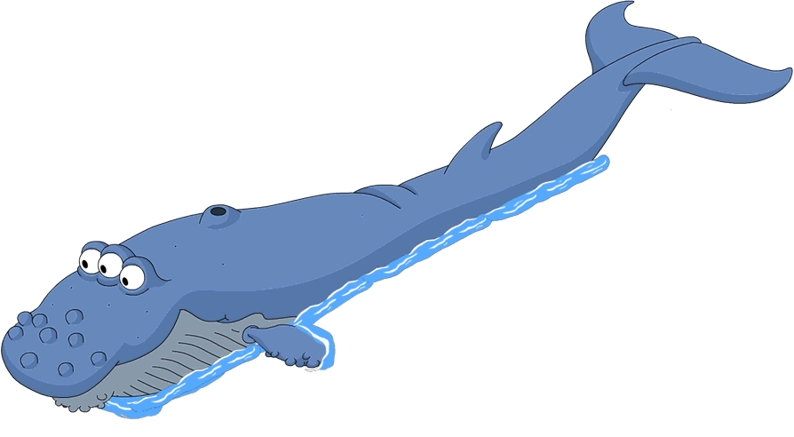 Transparent whale miss you. Should i spend donuts