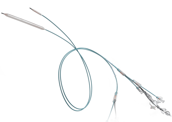 Transparent wires bard. Conquest pta dilatation catheters