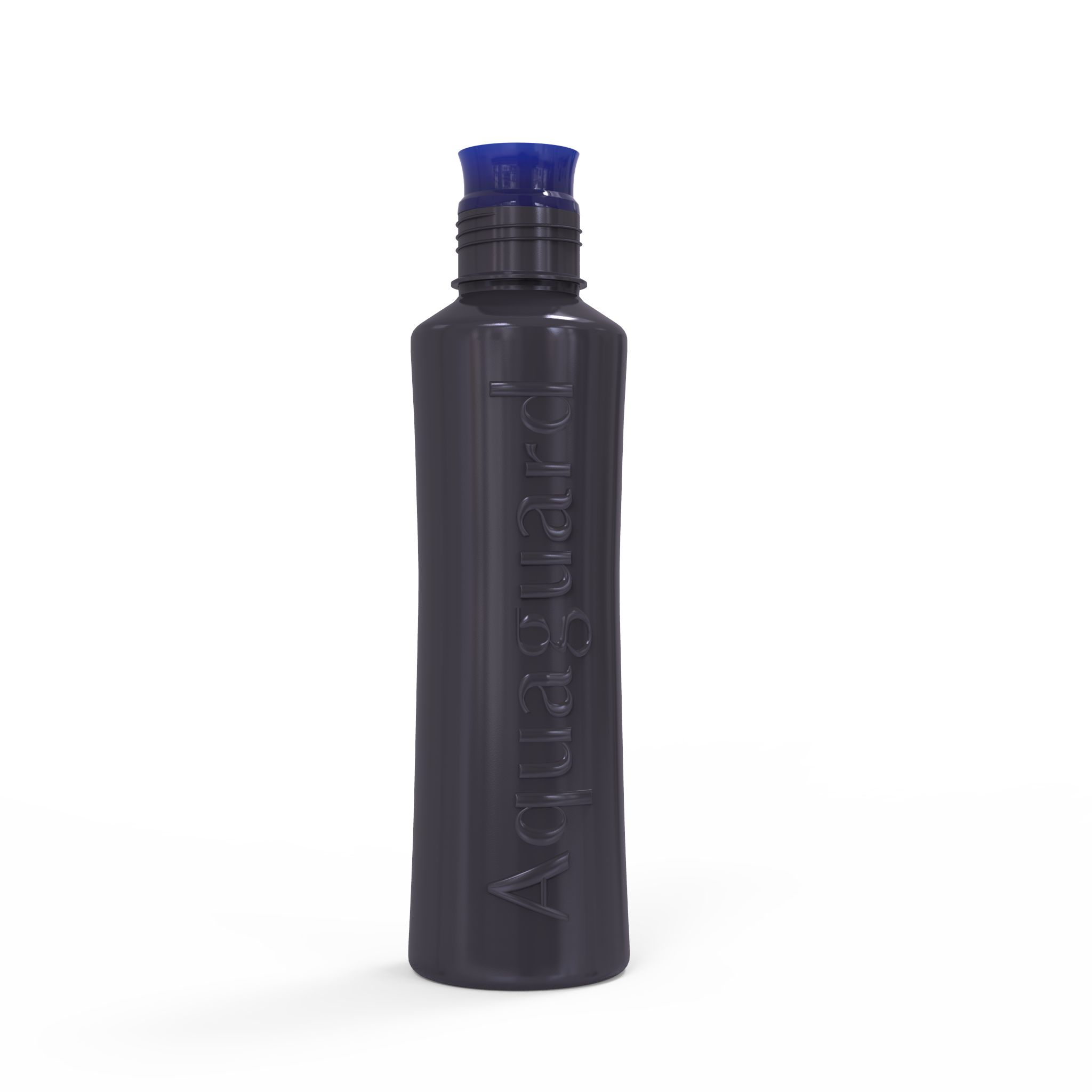 Transparent worms water bottle. H go drinking single
