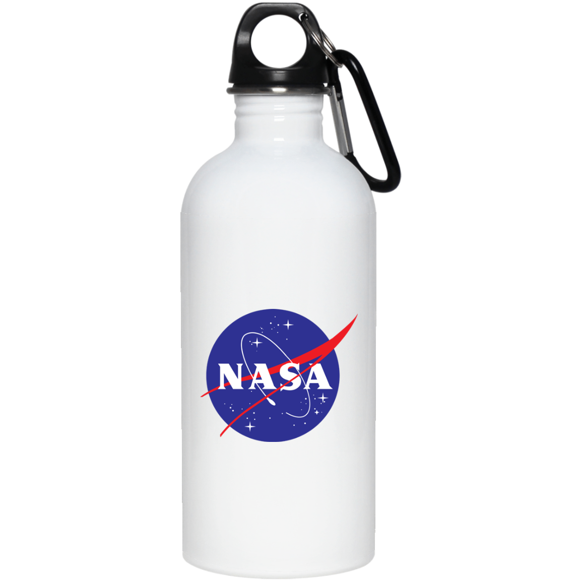 Transparent worms water bottle. Nasa oz stainless steel