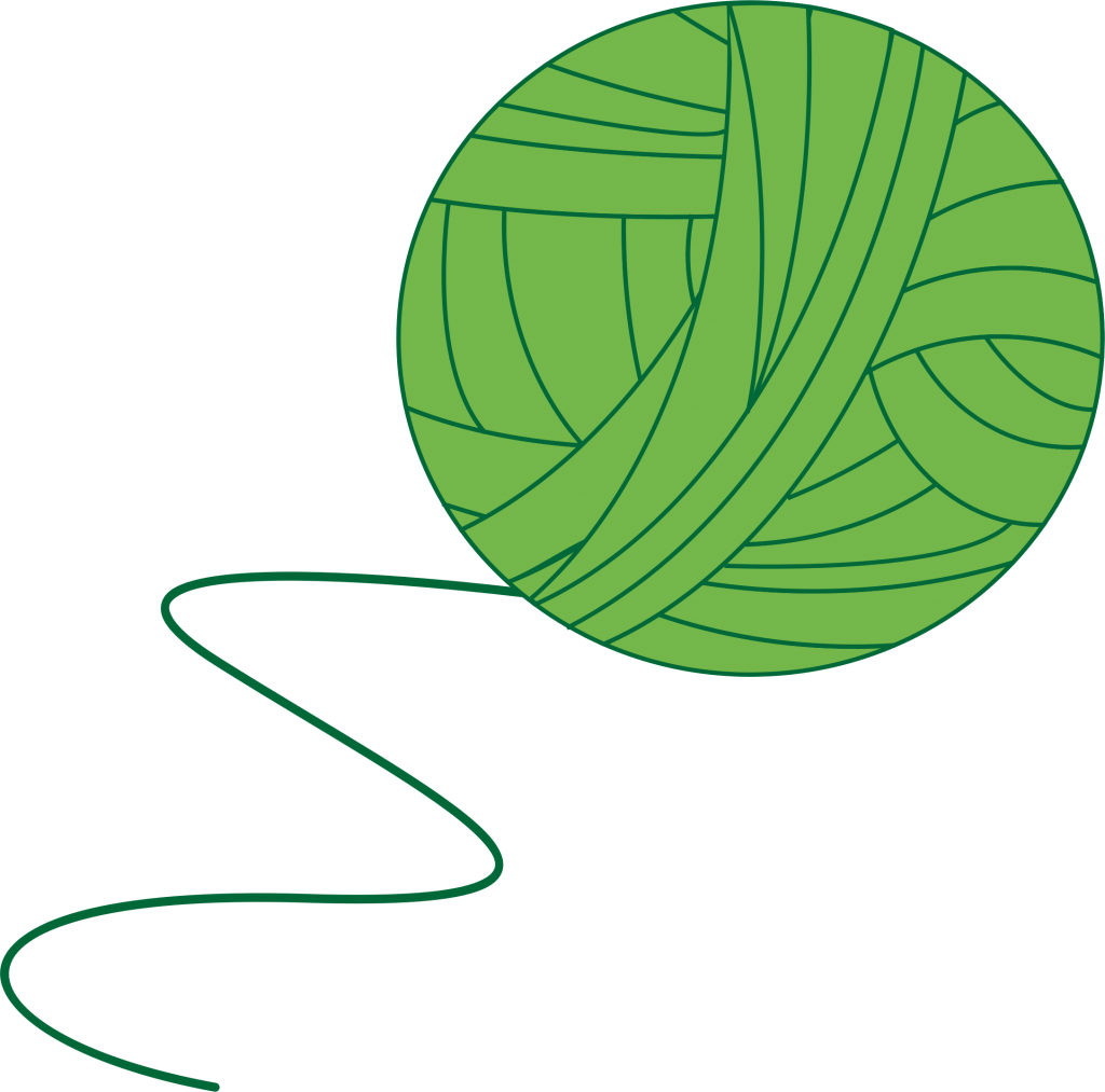Transparent yarn background. Png pic vector clipart