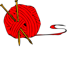 Transparent yarn clip art. Red ball at clker