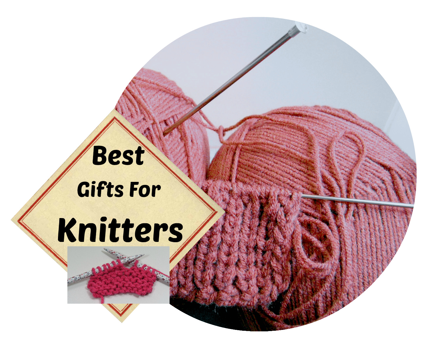 Transparent yarn unraveled. Best gifts for knitters