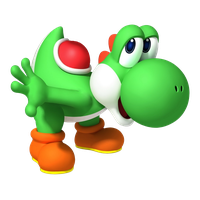 Yoshi vector transparent background. Download free png photo