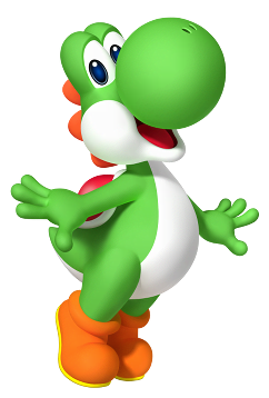 Transparent yoshi 64 bit. Video games weekly s