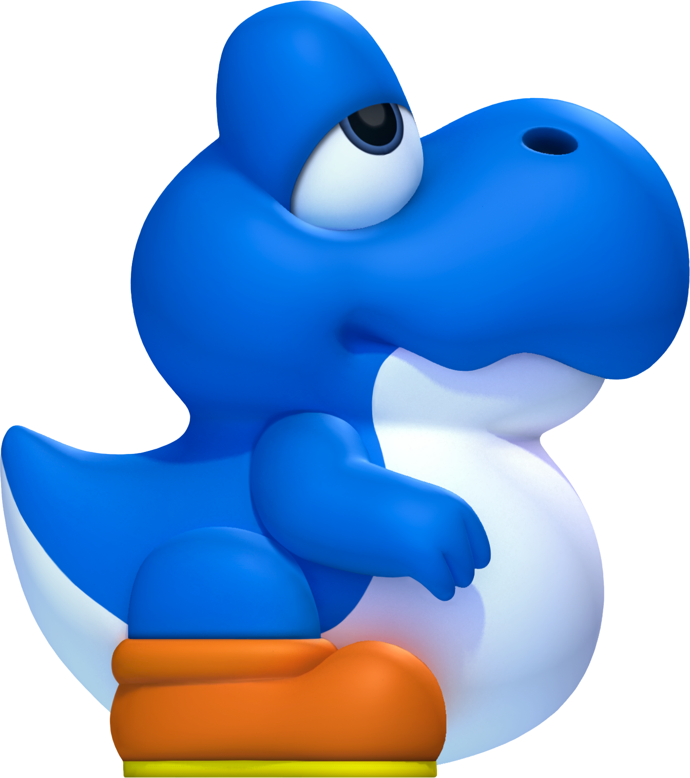 Transparent yoshi baby. Ultimate pop culture wiki