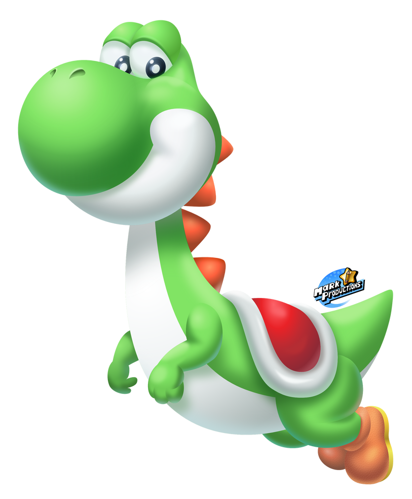 Transparent yoshi different. Classic smashified by markproductions