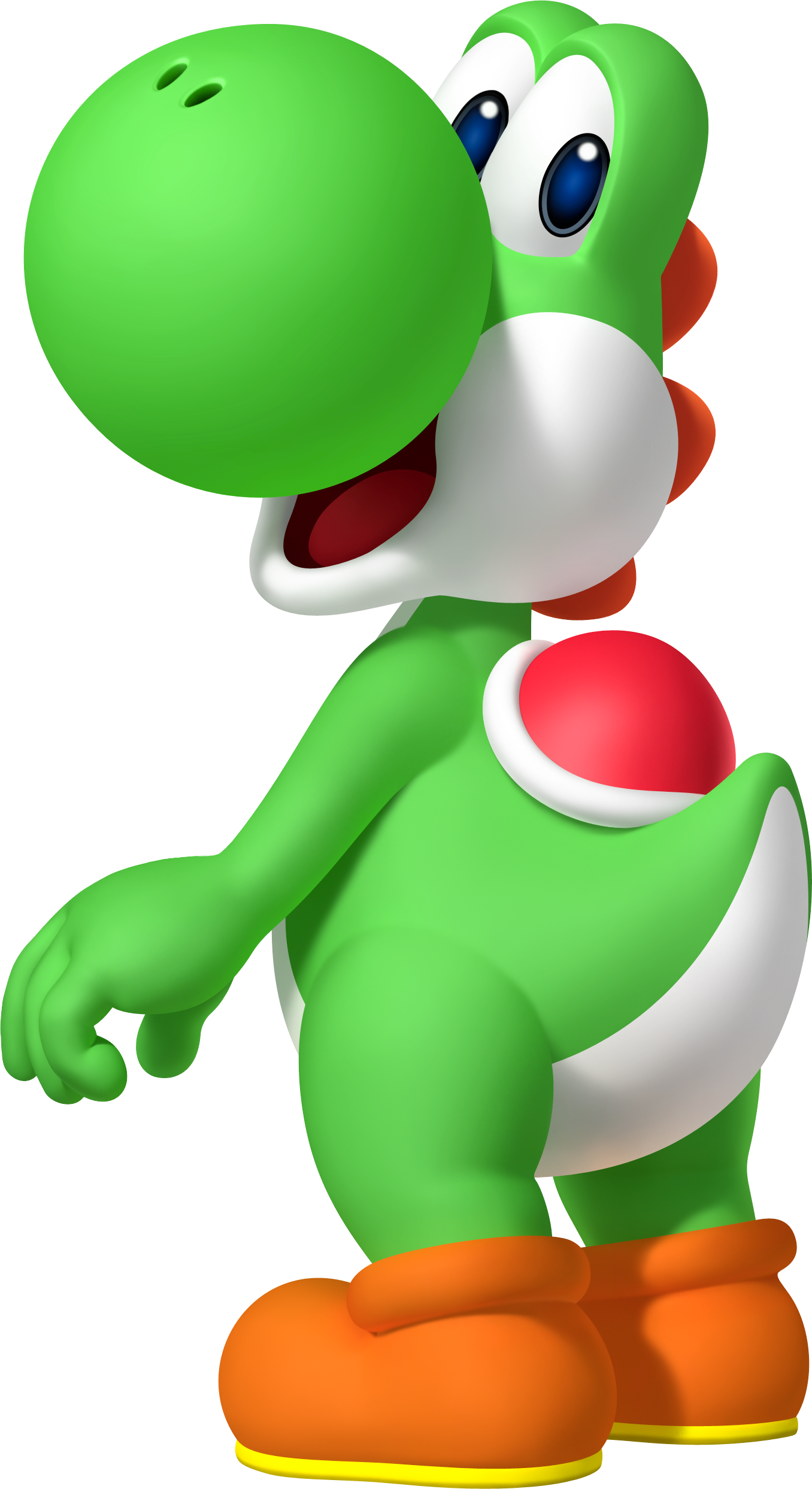 Transparent yoshi dino. Helpful dinosaur pixelated costume