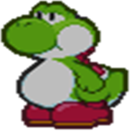 Transparent yoshi fat. A standing roblox