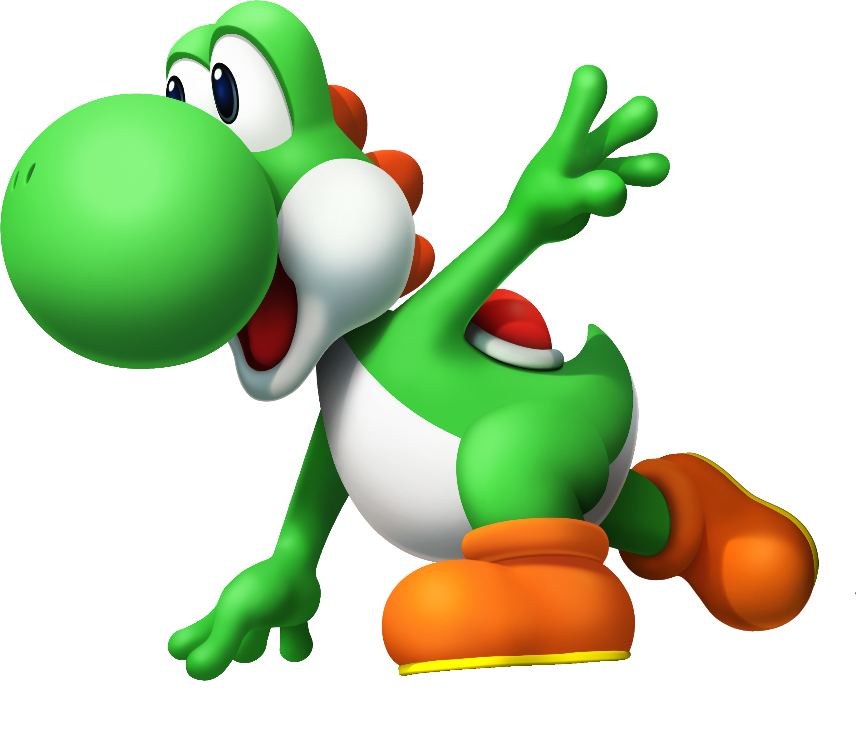 Transparent yoshi mmd. Download png image arts