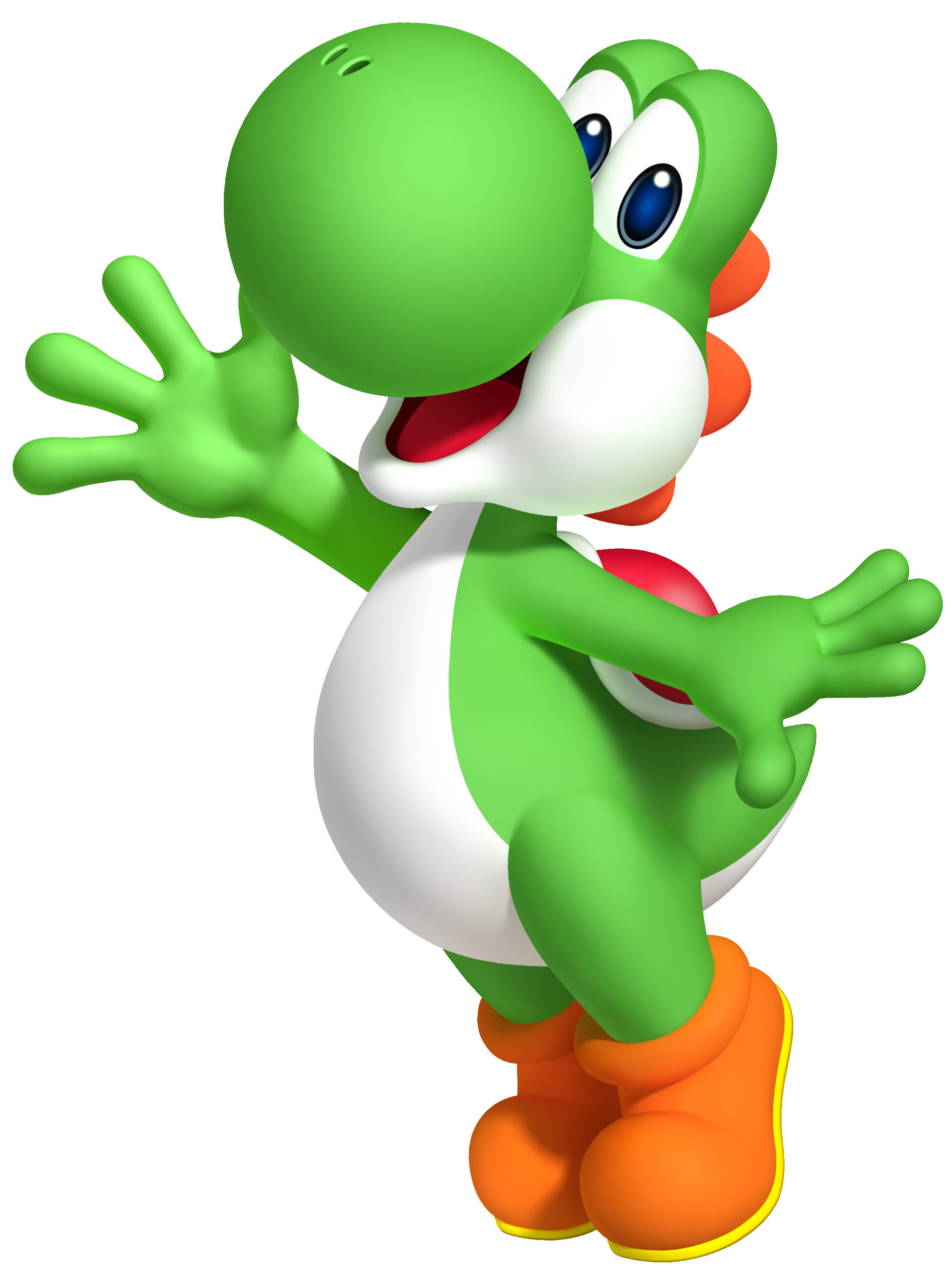 Transparent yoshi old. Nintendo character countdown the