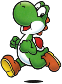 Transparent yoshi old. Super mario wiki the