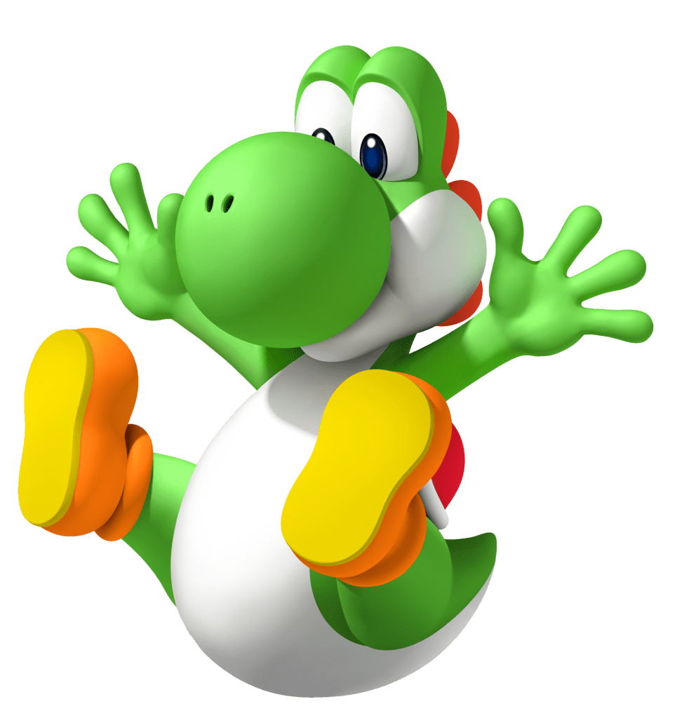 Transparent yoshi sad. Tlb s top green