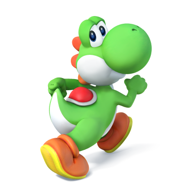 Transparent yoshi super smash bro wii u. Artwork brothers know your