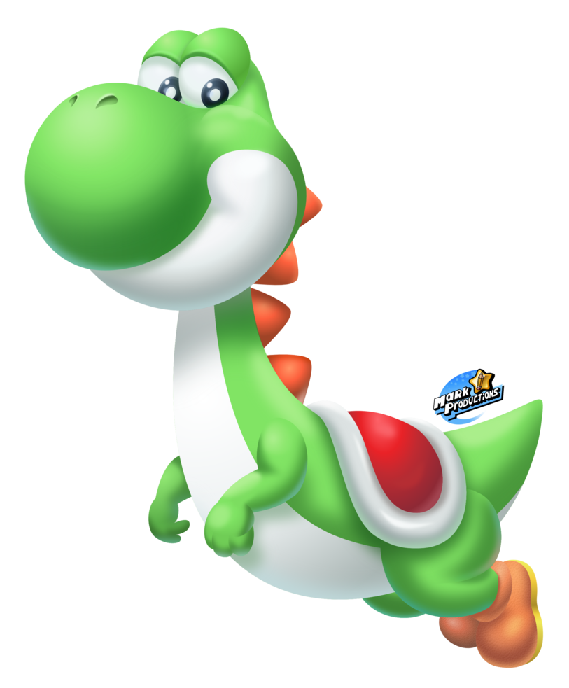 Transparent yoshi. Classic smashified by markproductions