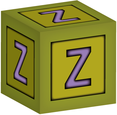 This baby building features. Transparent z block letter picture library stock