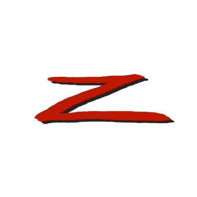 Transparent z red. Zorro png stickpng