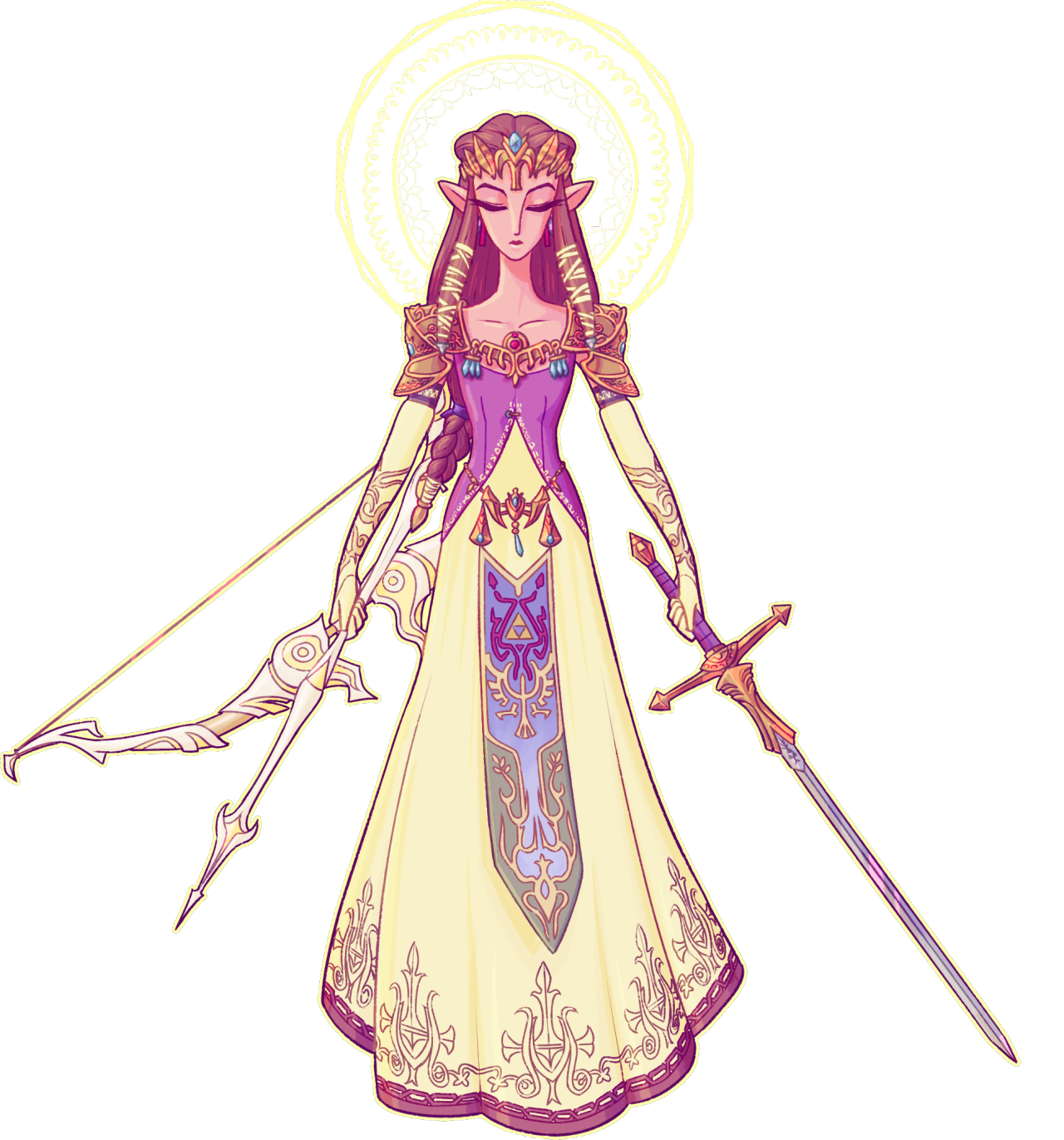 Transparent zelda. Princess of wisdom pinterest