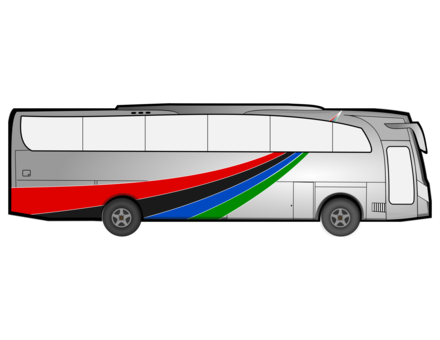 Transport drawing transit bus. School driver free commercial